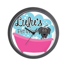 Lulus Pet Wash Wall Clock