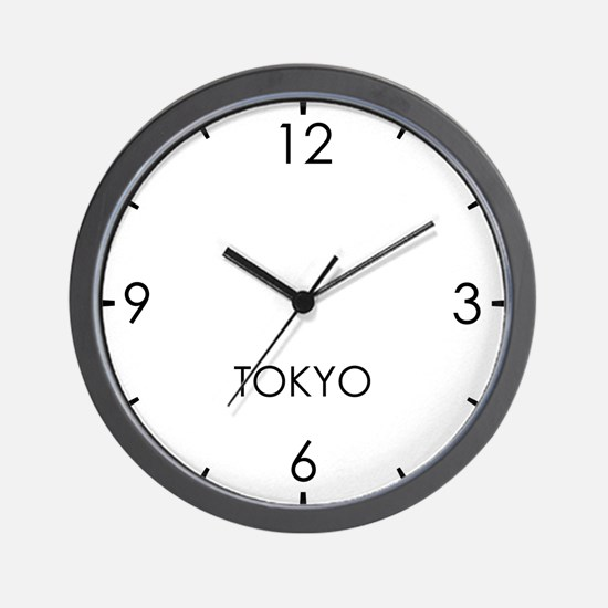 TOKYO  World Clock Wall Clock