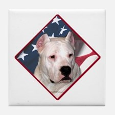 Dogo Flag 2 Tile Coaster