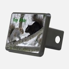 Black and gray squirrels. Hitch Cover