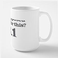Train for This Large Mug