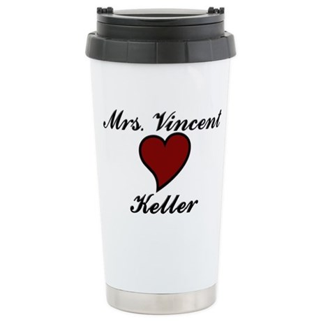Beauty and The Beast Stainless Steel Travel Mug