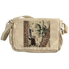 Gatsby in Paris Queen Messenger Bag
