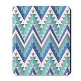 Blue native pattern Home Accessories