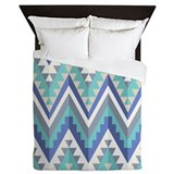 Blue native pattern Bedroom Décor