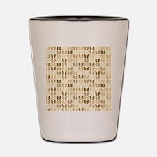 Cute Geometric Pattern Shot Glass