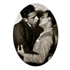 Valentine Men 1 Oval Ornament