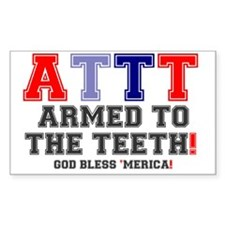 ATTT - ARMED TO THE TEETH Decal
