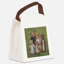Woodhill Whiskers Mouse Family Canvas Lunch Bag