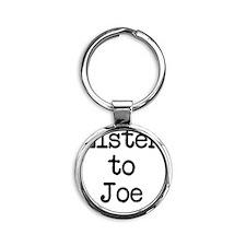 Listen to Joe Round Keychain