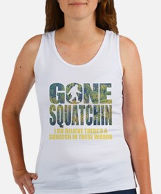Gone Squatchin *Special Deep Fore Women's Tank Top