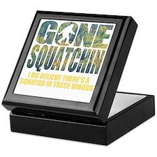 Gone Squatchin *Special Deep Forest E Keepsake Box