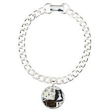 Gatsby In Paris Square Charm Bracelet, One Charm