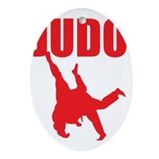 Judo Oval Ornament