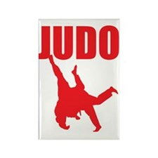 Judo Rectangle Magnet