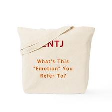 ENTJ Emotion Tote Bag