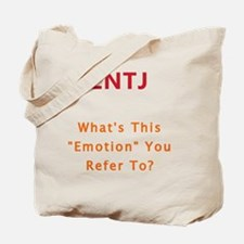 ENTJ Emotion Tote Bag