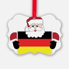 Santa In Germany Ornament