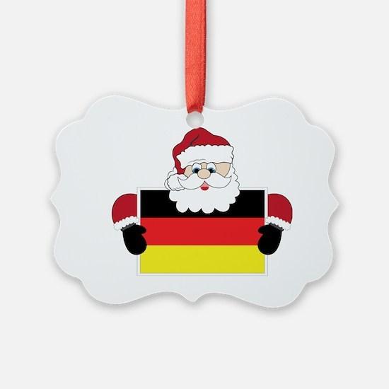 Santa In Germany Ornament