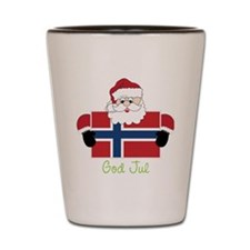 God Jul Shot Glass