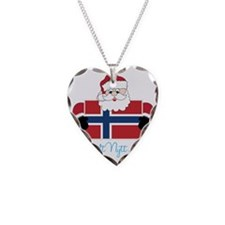 Godt Nytt Ar Necklace Heart Charm