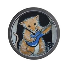 Eric Woodhill Whiskers Wall Clock