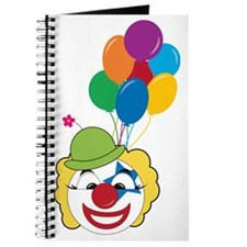 Clown With Balloons Journal