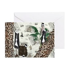 Gatsby In Paris Elongated Greeting Card