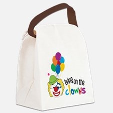 Bring On The Clowns Canvas Lunch Bag