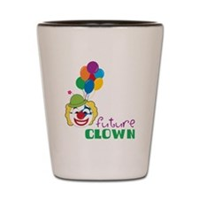 Future Clown Shot Glass