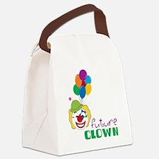 Future Clown Canvas Lunch Bag