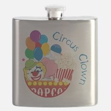 Circus Clown Flask