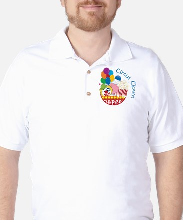 Circus Clown Golf Shirt
