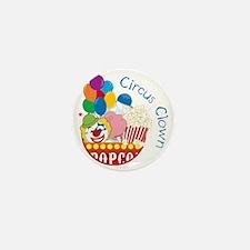 Circus Clown Mini Button
