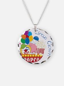 Circus Clown Necklace