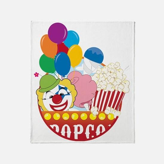 Carnival Logo Throw Blanket