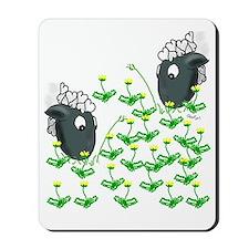 dandelion dinner Mousepad