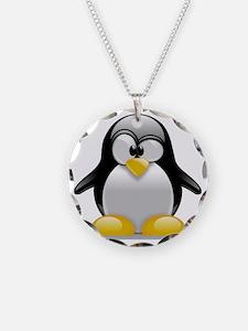 Tux the Penguin Necklace