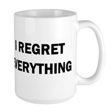 RON SWANSON REGRET Mugs
