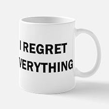 RON SWANSON REGRET Mugs