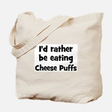 Rather be eating Cheese Puff Tote Bag