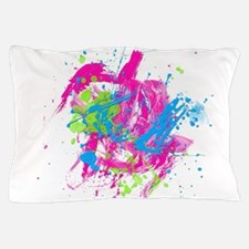 80s Splatter Pillow Case