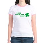 Lucky Keg Stand Jr. Ringer T-Shirt