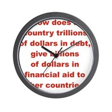 HOW DOES A COUNTRY TRILLIONS OF DOLLARS Wall Clock