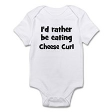 Rather be eating Cheese Curl Infant Bodysuit