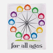 For All Ages Throw Blanket
