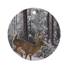 Winter Majesty Queen Round Ornament