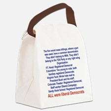 ALL WERE LIBERAL DEMOCRATS... Canvas Lunch Bag