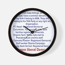 ALL WERE LIBERAL DEMOCRATS... Wall Clock