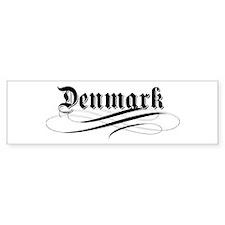 Denmark Gothic Bumper Bumper Sticker